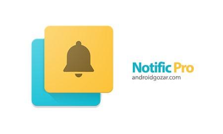 Notific Pro 7.3.0 دانلود نرم افزار اطلاعیه صفحه قفل اندروید