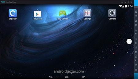 Nox App Player Full 6.2.8.3 دانلود شبیه ساز اندروید در کامپیوتر