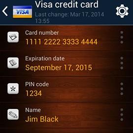 NS Wallet PRO password manager 2.2.2 دانلود نرم افزار مدیریت رمز عبور