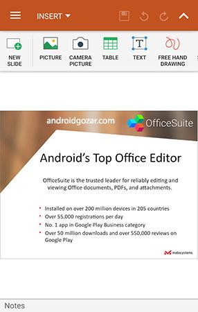 دانلود OfficeSuite Pro + PDF 11.0.33145 برنامه آفیس سوئیت اندروید