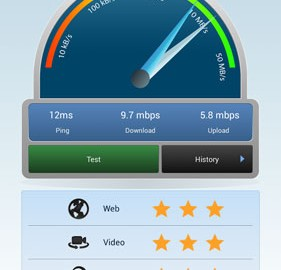 3G 4G WiFi Maps & Speed Test 5.44 برنامه تست سرعت اینترنت اندروید
