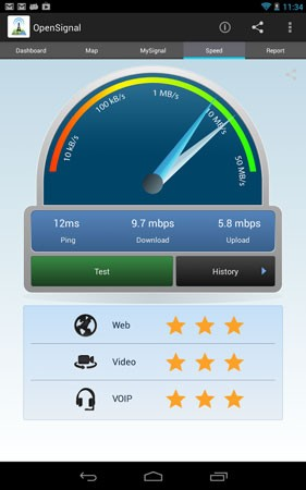 دانلود OpenSignal 3G, 4G & 5G Signal & WiFi Speed Test 6.8.4-1 تست سرعت اینترنت