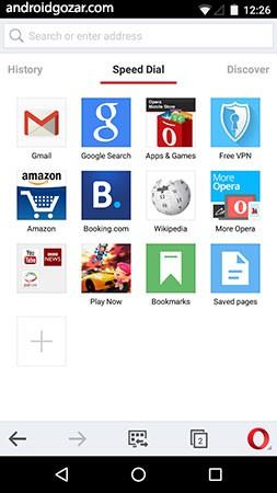 دانلود Opera browser 58.2.2878.53403 مرورگر اپرا اندروید
