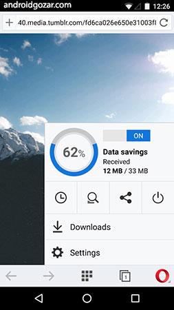 دانلود Opera browser 64.2.3282.60128 مرورگر اپرا اندروید