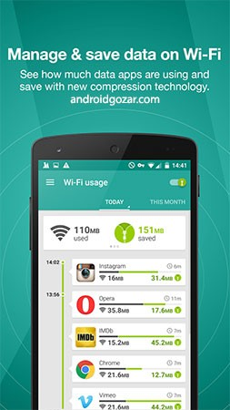 Opera Max – Data savings app 1.7.8 دانلود نرم افزار کاهش مصرف اینترنت