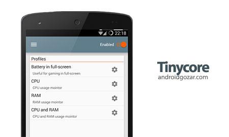 Tinycore Pro – CPU, RAM monitor 3.2.6 دانلود نرم افزار نظارت بر CPU و رم