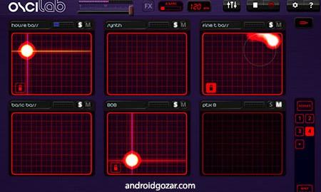 Oscilab Pro – Groovebox & MIDI 1.5.7 دانلود نرم افزار تنظیم و میکس آهنگ + دیتا