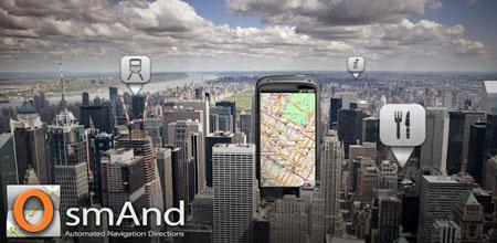 Maps & GPS Navigation OsmAnd+ 2.7.0 دانلود مسیریاب آفلاین اندروید