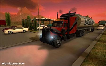 Truck Simulator 3D 2.1 دانلود بازی شبیه سازی کامیون اندروید + مود