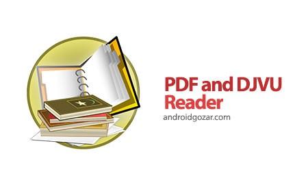 PDF and DJVU Reader 2.4.0 دانلود نرم افزار کتاب خوان اندروید