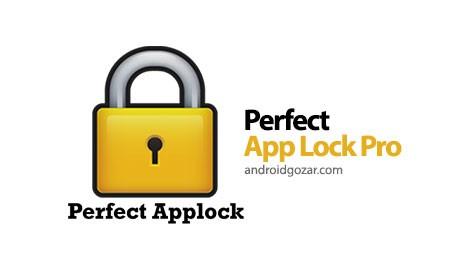 Perfect App Lock Pro 7.2.2 نرم افزار قفل کامل برنامه های اندروید