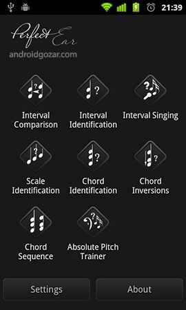 Perfect Ear Pro 3.9.1b دانلود نرم افزار تمرین شنوایی نوازندگان