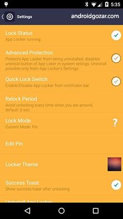 App Lock Pal Premium 1.4.1.11+ دانلود نرم افزار قفل کردن برنامه ها