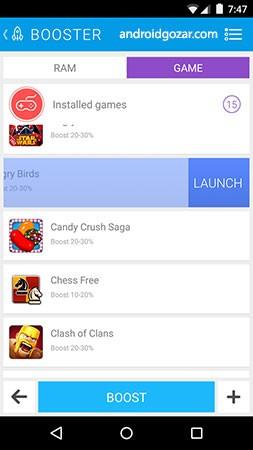 Clean Pal (Phone Boost) Premium 2.1 دانلود نرم افزار تقویت موبایل
