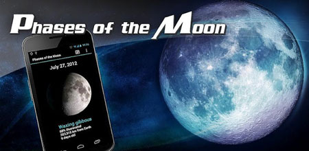 Phases of the Moon Pro 5.0.5 دانلود نرم افزار مشاهده وضعیت ماه اندروید