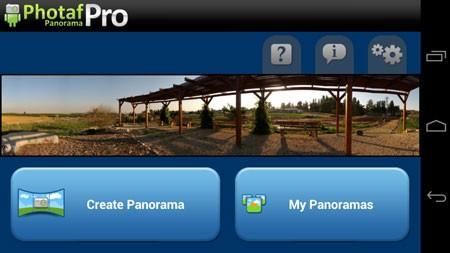 Photaf Panorama Pro 4.4.3 نرم افزار ایجاد عکس های پانوراما اندروید