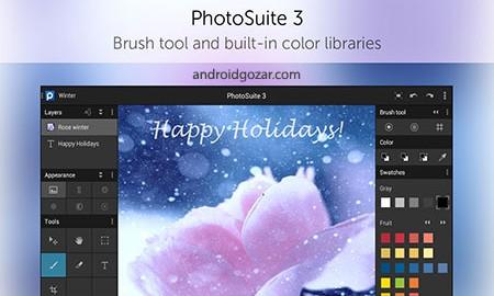 PhotoSuite 3 Photo Editor 3.2.339 دانلود ویرایشگر عکس