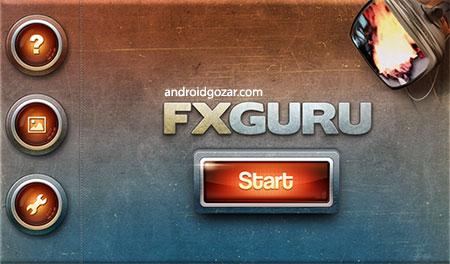 دانلود FxGuru: Movie FX Director 2.12.0 FULL برنامه جلوه های ویژه فیلم اندروید