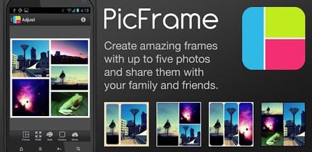 PicFrame 2.8 دانلود برنامه قرار دادن عکس درون قاب برای اندروید