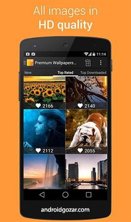 Premium Wallpapers HD Premium 4.3.3 دانلود تصاویر پس زمینه با کیفیت بالا
