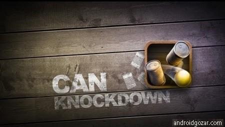 دانلود Can Knockdown 1.40 بازی ضربه به قوطی اندروید + مود