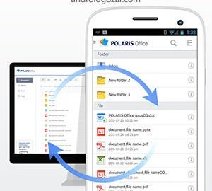 Polaris Office Pro 7.6.3 دانلود نرم افزار آفیس موبایل اندروید