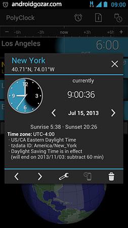 PolyClock™ World Clock 7.1 دانلود نرم افزار ساعت جهانی