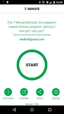 7 Minute Workout Pro 1.362.107 تمرین 7 دقیقه ای عضلات شکم اندروید