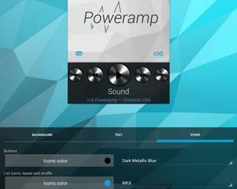 Poweramp Widgets Kit 1.1.1 دانلود ویجت موزیک پلیر Poweramp