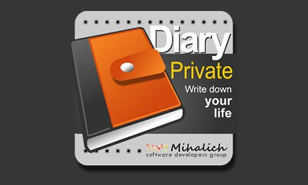 Private DIARY 7.4 دانلود نرم افزار دفتر خاطرات شخصی