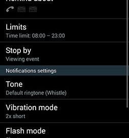 Prof Reminder – missed call 1.5.2 Unlocked یادآوری تماس ها و پیام های از دست رفته