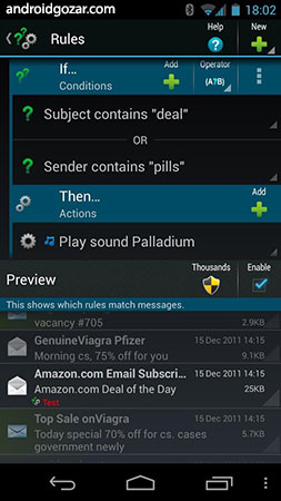 ProfiMail Go Premium 4.30.01 دانلود کلاینت ایمیل قدرتمند