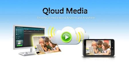Qloud Media 4.0.7 اشتراک فایل از کامپیوتر به موبایل