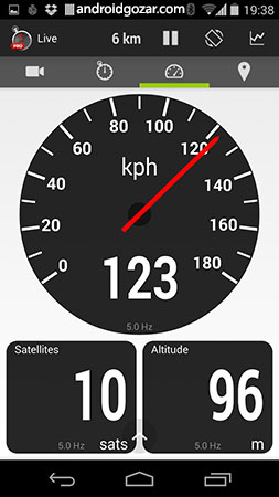 RaceChrono Pro 5.4.6 دانلود نرم افزار زمان سنج ماشین و موتور سیکلت