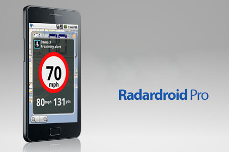 Radardroid Pro 3.57 دانلود نرم افزار هشدار دهنده دوربین سرعت GPS اندروید