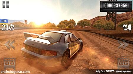 دانلود Rally Racer Drift 2.0 بازی مسابقه رالی دریفت اندروید + مود