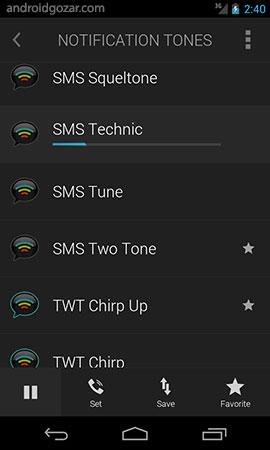 Ringtones Complete 4.2.2 دانلود نرم افزار آهنگ های زنگ حرفه ای