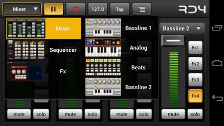 RD4 Groovebox 2.2.0 دانلود نرم افزار آهنگسازی پیشرفته اندروید