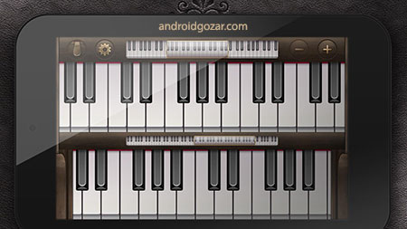 دانلود Gismart Piano 1.56 برنامه آموزش پیانو برای اندروید