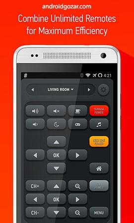 AnyMote Smart Remote Pro 4.6.9 دانلود ریموت کنترل همه کاره اندروید