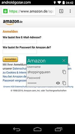 Password Safe and Manager Pro 6.2.0 نرم افزار ذخیره پسورد اندروید