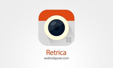 Retrica Pro 5.7.0 دانلود نرم افزار عکاسی با فیلتر و وضوح بالا اندروید