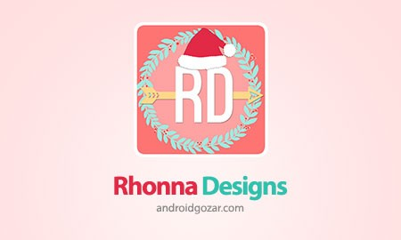 Rhonna Designs 2.26 دانلود نرم افزار ویرایشگر عکس اندروید + دیتا