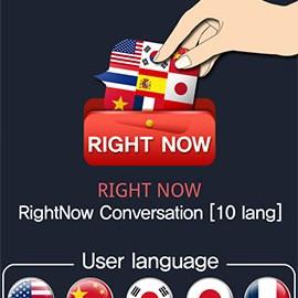 RightNow Conversation[10 lang] 1.2.1 آموزش گفتگو به ده زبان