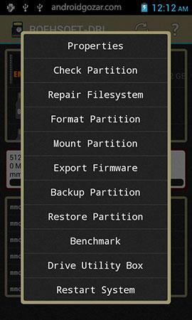 ROEHSOFT DRIVE-EXPERT 1.27 دانلود نرم افزار تعمیر درایوها اندروید