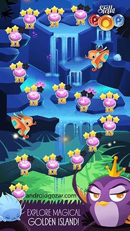 Angry Birds POP Bubble Shooter 3.67.0 دانلود بازی پرندگان خشمگین تیرانداز اندروید + مود