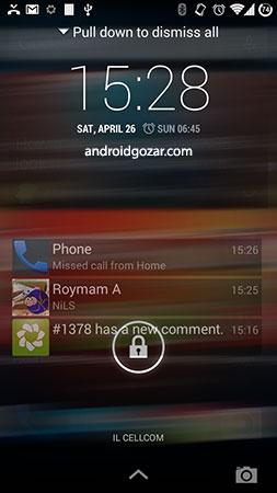 NiLS Lockscreen Notifications FULL 2.0.823 دانلود نرم افزار اعلان های صفحه قفل