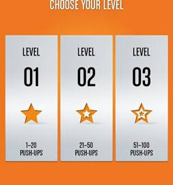 Runtastic Push-Ups Workout PRO 1.13 دانلود برنامه تمرینات شنا رفتن