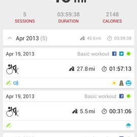 Runtastic Road Bike PRO 3.6.2 دانلود نرم افزار دوچرخه سواری جاده