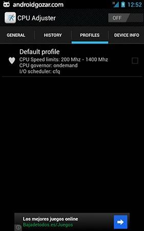 CPU Adjuster PRO 3.1.124 دانلود نرم افزار تنظیم پردازنده اندروید